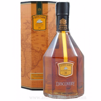 Whisky Cutty Sark 18 años Discovery 0.7L. 43º